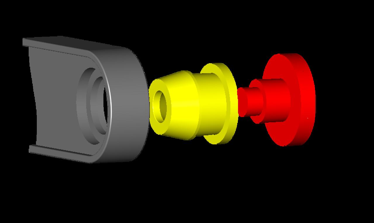 Pontiac G4 shifter cable bushing