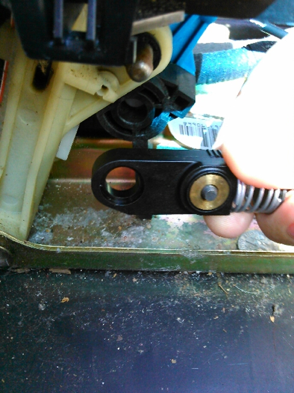 Toyota Prius C shifter cable bushing