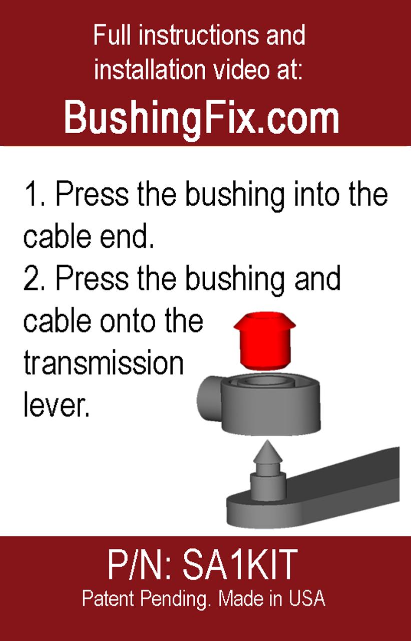 Saturn L300 Shift Cable Replacement Grommet