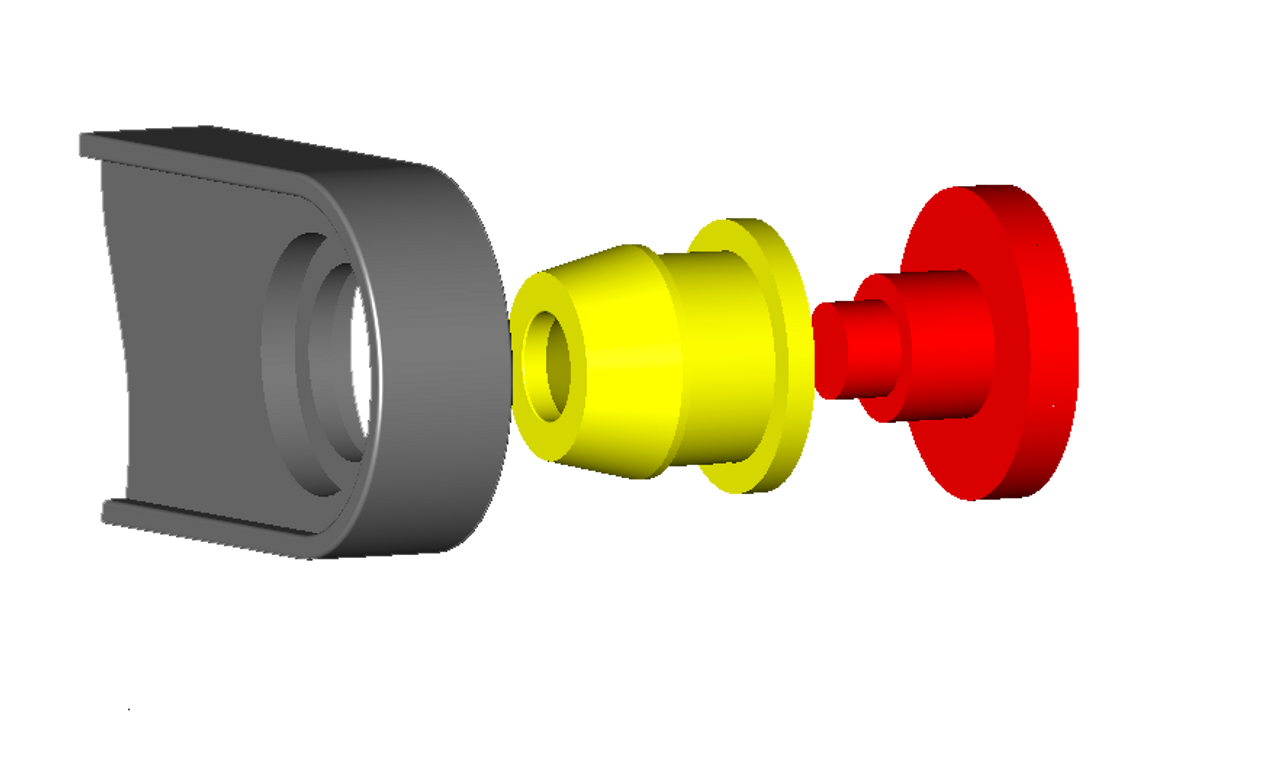 Jeep Compass Transfer Case shifter cable bushing