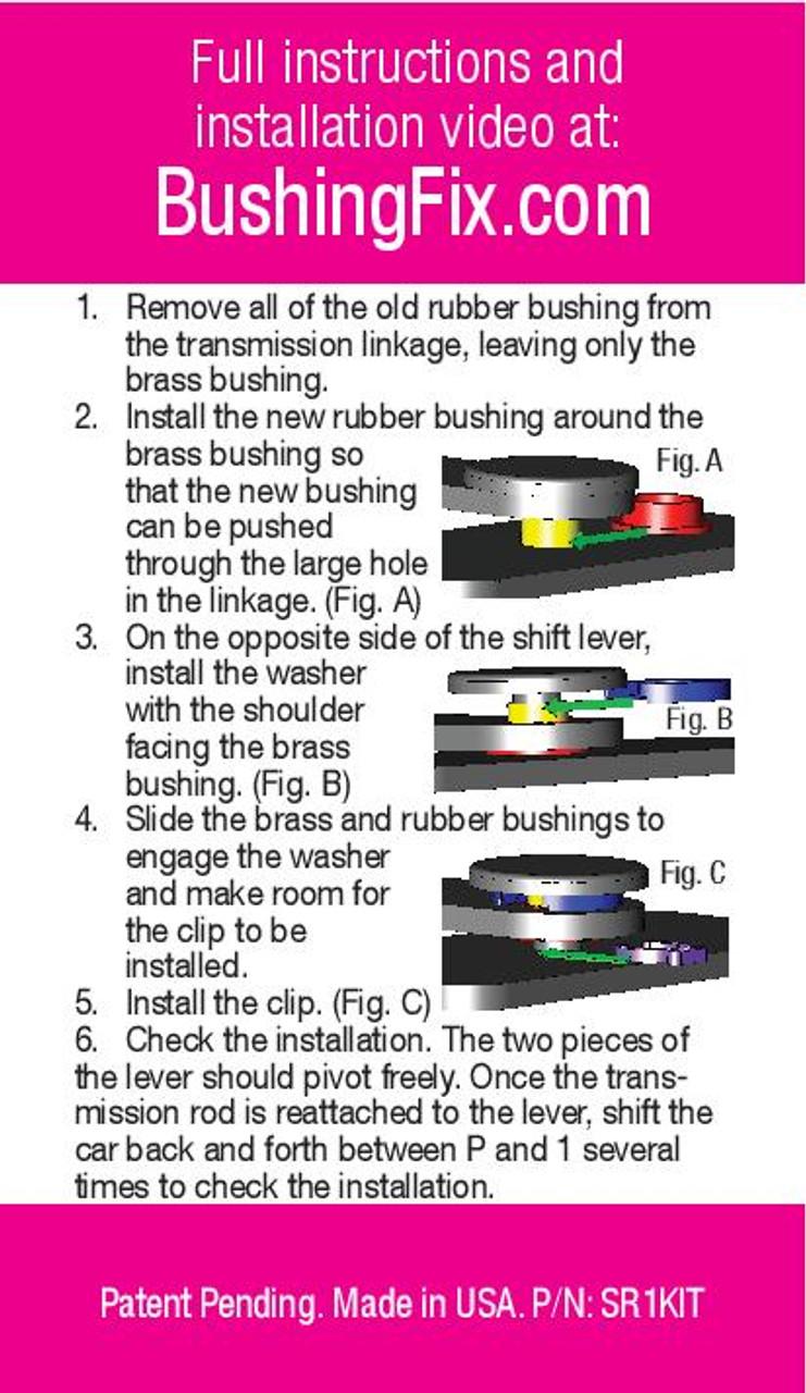Cadillac STS-V Instructions