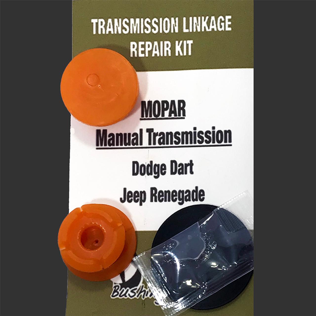 Jeep Patriot RT1Kit Manual Shifter Cable Bushing Repair Kit