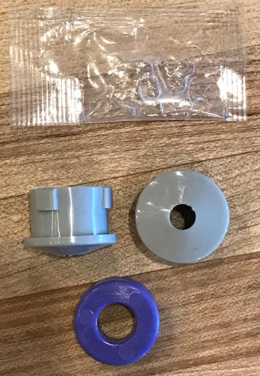 Dodge Ram 5500 transfer case shifter repair with replacement bushing and installation driver.