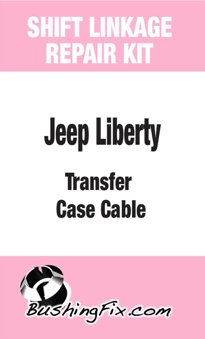 JL1Kit transfer or shift cable repair with replacement bushing and installation driver.