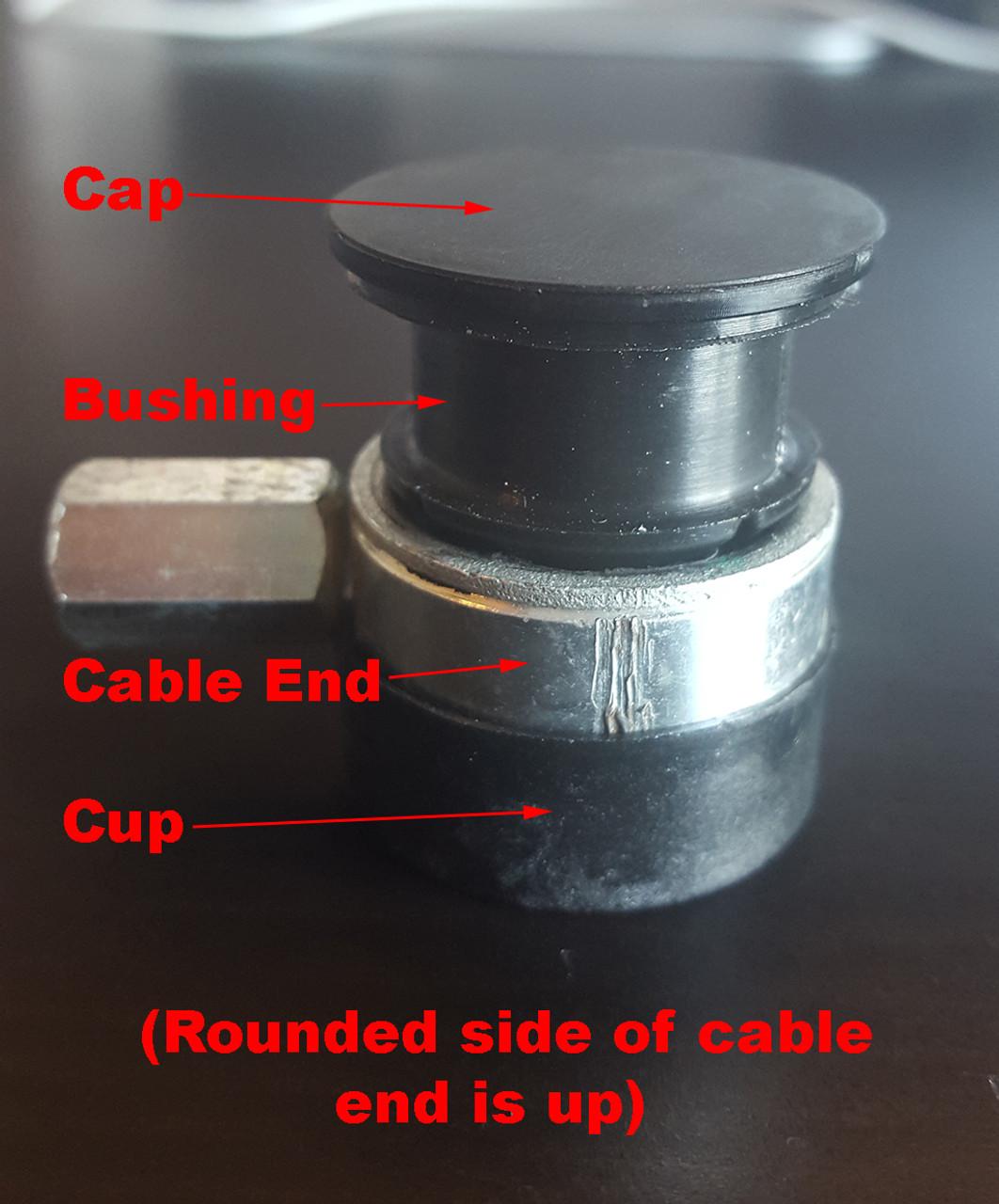 Fiat 500L manual transmission transmission cable repair