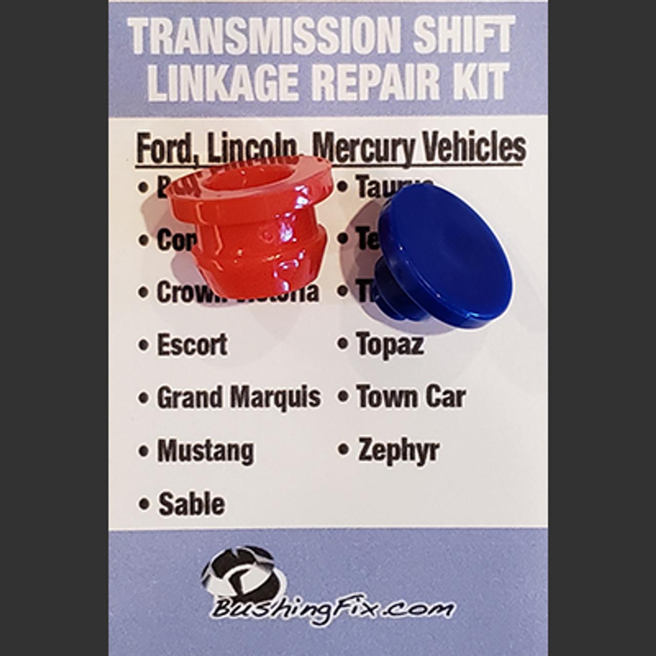 Ford Custom FA1KIT™ Transmission Shift Lever / Linkage Replacement Bushing Kit