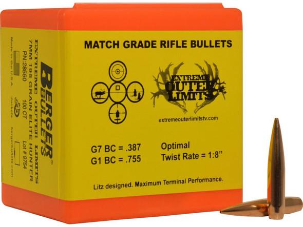 Berger Match Target Bullets Long Range