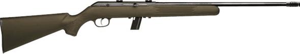 Savage 64F 22LR Semi Auto Green Synthetic 10 Shot Clip