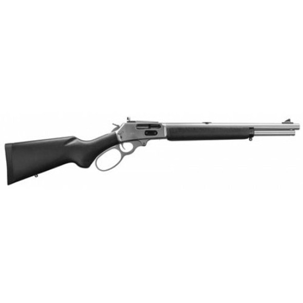 "Marlin 45-70 1895TSBL Trapper 16.5"" SS Barrel Hardwood Stock"