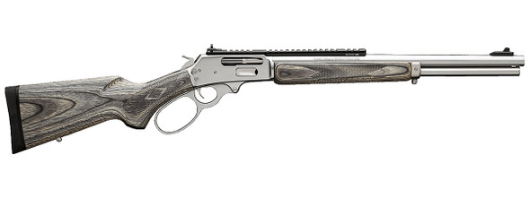 Marlin 45-70 1895SBL Stainless Steel Large Loop Grey Laminate Stock 18'' Barrel