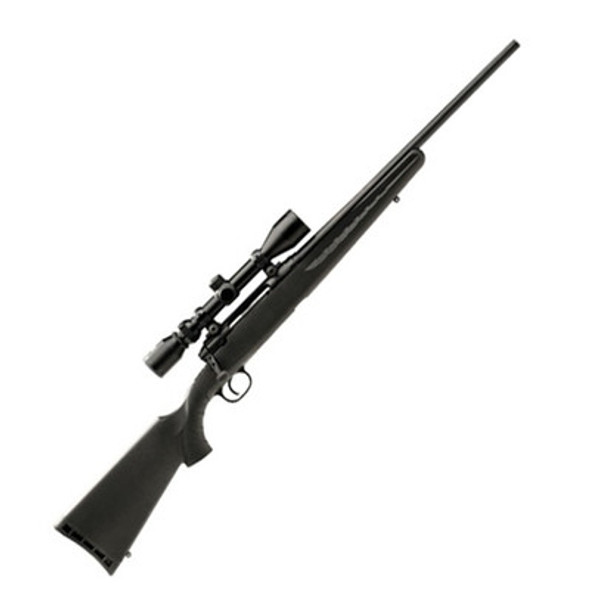 "Savage Axis XP 243 Youth Synthetic Stock 20"" Blued Barrel 3-9x40 Bushnell Scope"