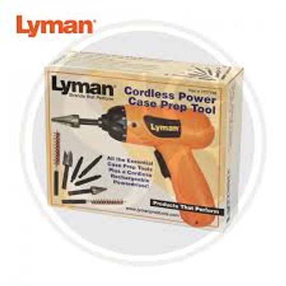 Lyman Power Deburring Tool Kit