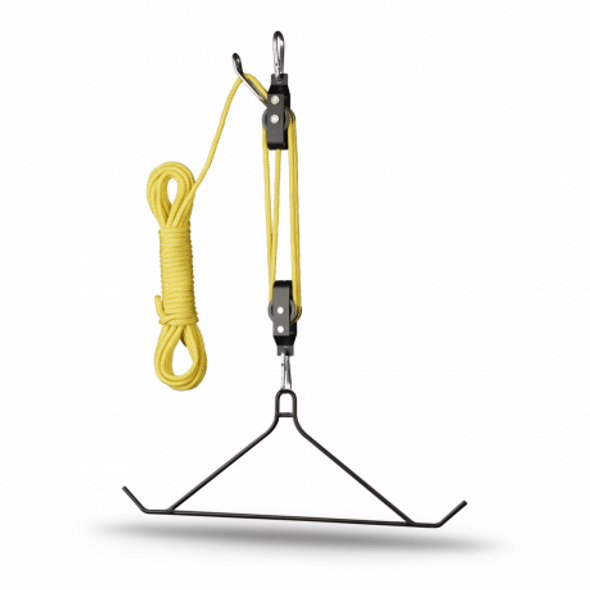 HS Hoist Lift System 600lb 4:1 Ratio Lift