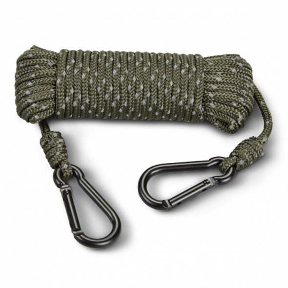 HS Treestand Reflective Rope 30' c/w Caribiner
