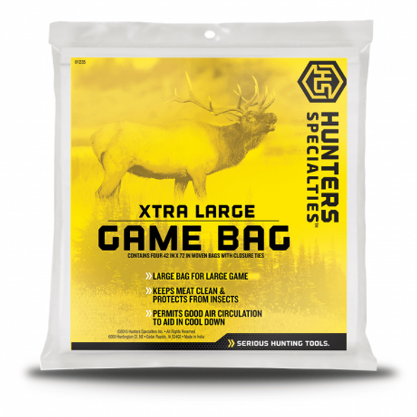"HS Game Bag XL HD 42"" X 72"" Washable"