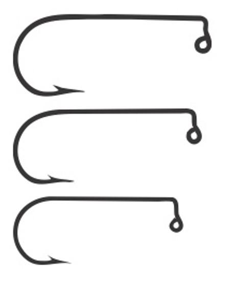 Mustad 32760 Jig Fly Hooks 50/pack