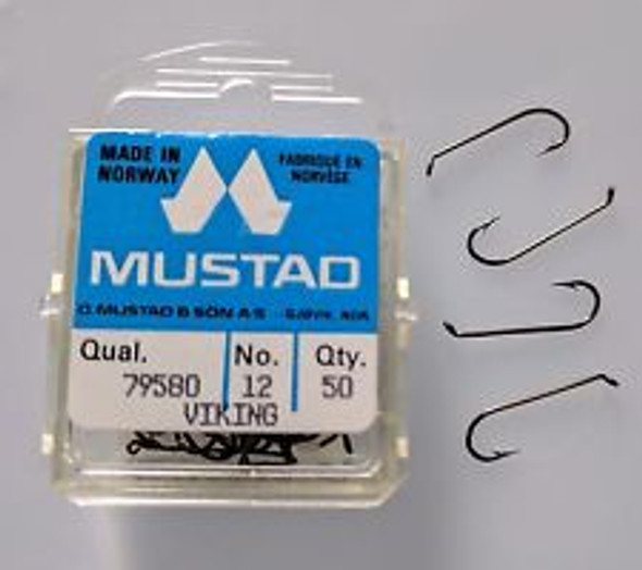 Mustad 79580 Streamer Fly Hook 50/pack