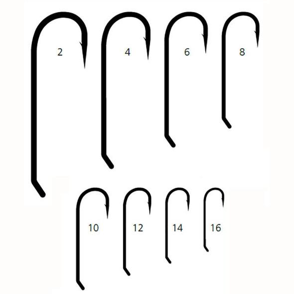 Mustad 9672 Streamer 3x Long Fly Hooks 50/pack