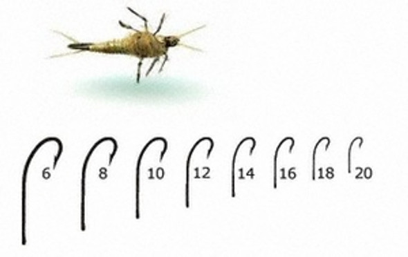 Mustad Signature C53s Caddis Curved Fly Hooks 50/pack