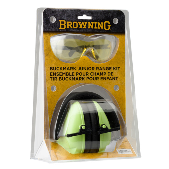 Browning Range Kit Junior Ear Muff & Eye Glass