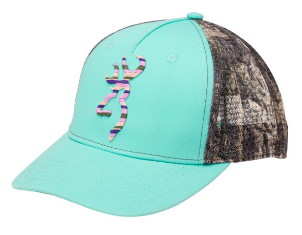 Browning Cap Teal Moulded Camo