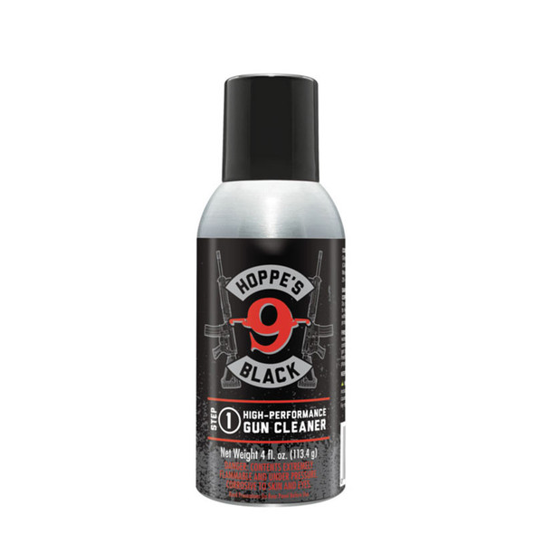 Hoppes Black Gun Cleaner 4oz Step 1