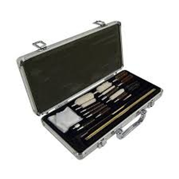 Hoppes Universal Gun Cleaning Kit 76pc Alum Case
