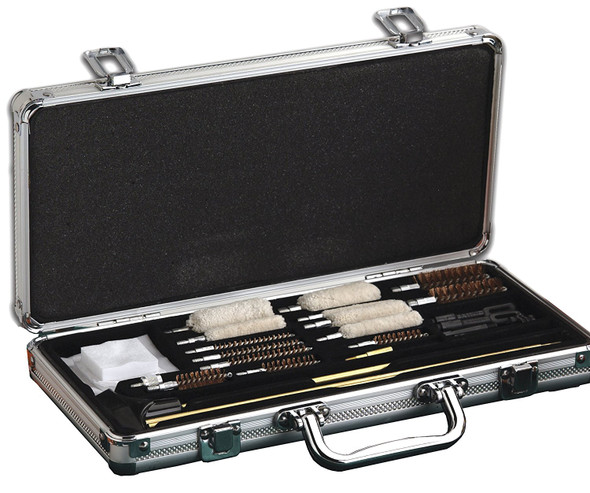 Hoppes Deluxe Gun Cleaning Kit 102pc Aluminum Box