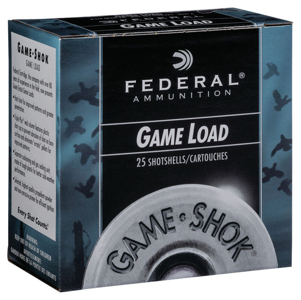 Federal Game Shok Lead Shotgun Shells