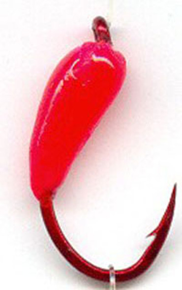 Macks Glo Hook Jig Red Gamakatsu Hooks