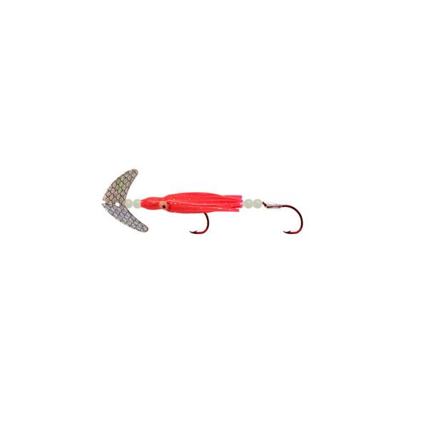 Macks Cha Cha Sockeye Squidder Hoochie #1/0 Red Hooks