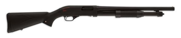 """Winchester SXP 12ga Super X Pump Blued Defender 3"""" 18"""" Barrel"""