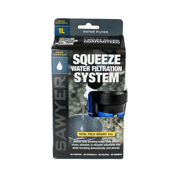 Sawyer Squeeze Filter Water Purification