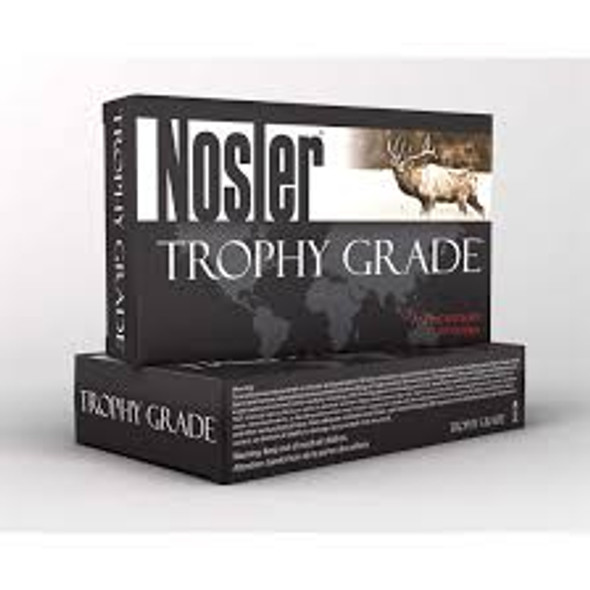 Nosler Trophy Grade Ammunition