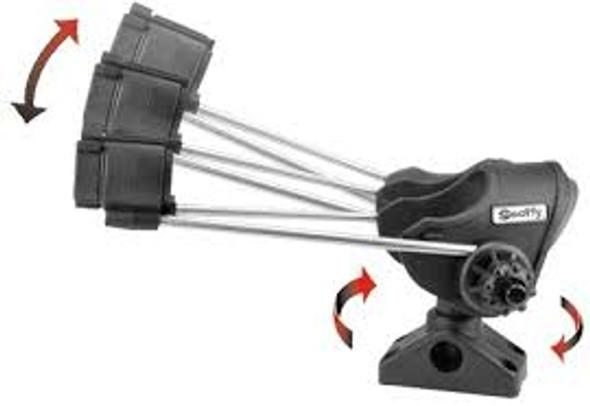 Scotty 240 Striker Rod Holder c/w 241 Combination Side/Deck Mount