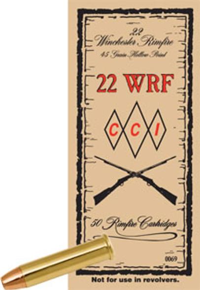 CCI 22 WRF Winchester Rim Fire 45gr HP