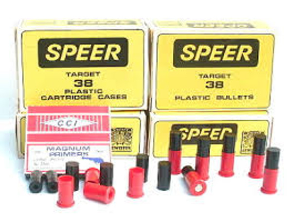 Speer Plastic Training Bullets