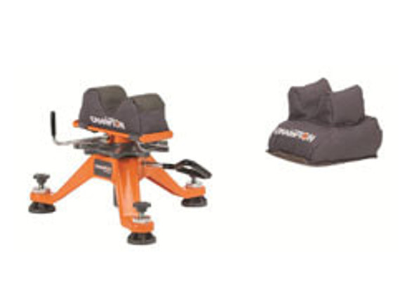 Champion Tri Stance Rest With Rear Bag