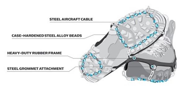 Ice Trekkers Diamond Grip Ice Cleats