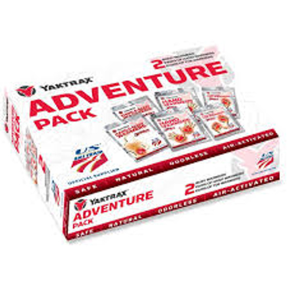 Yaktrax Adventure Pack 2 Ea Body,hand & Toe Warmers
