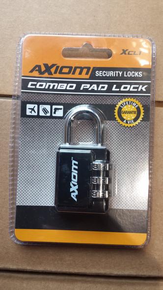 Axiom Pad Lock Combo