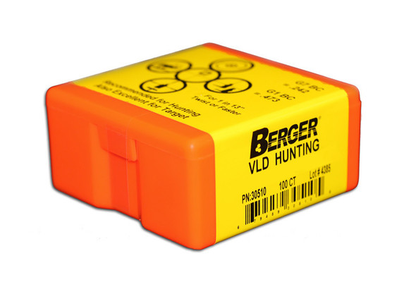 Berger VLD & Classic Hunting Rifle Bullets