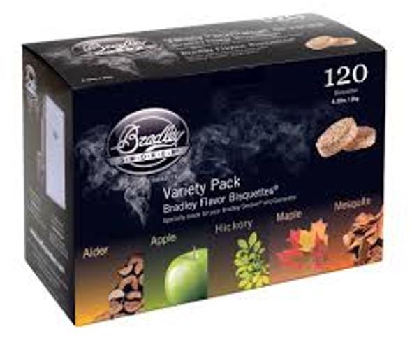 Bradley 120 Variety Pack 5 Flavour