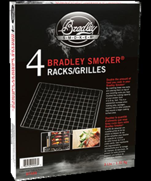 Bradley Smoker Racks 4pk