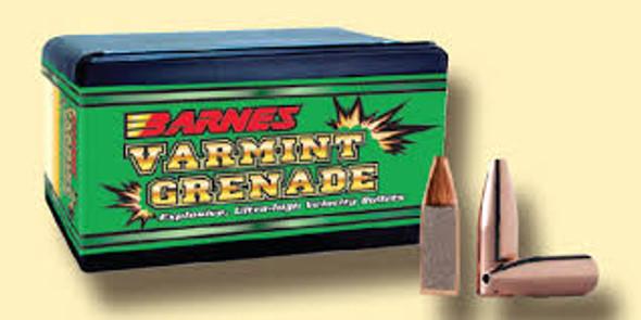 Barnes Varmint Grenade Rifle Bullets