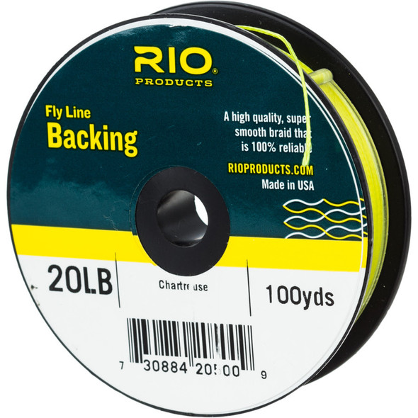 Rio Fly Line Backing 20lb 100yd