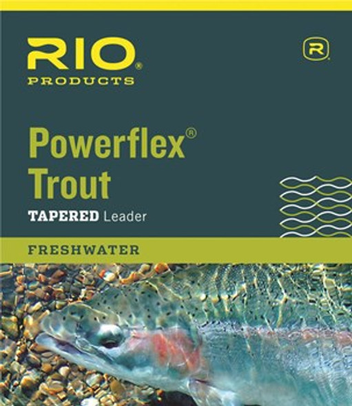 Rio Powerflex Tapered Leader 15'