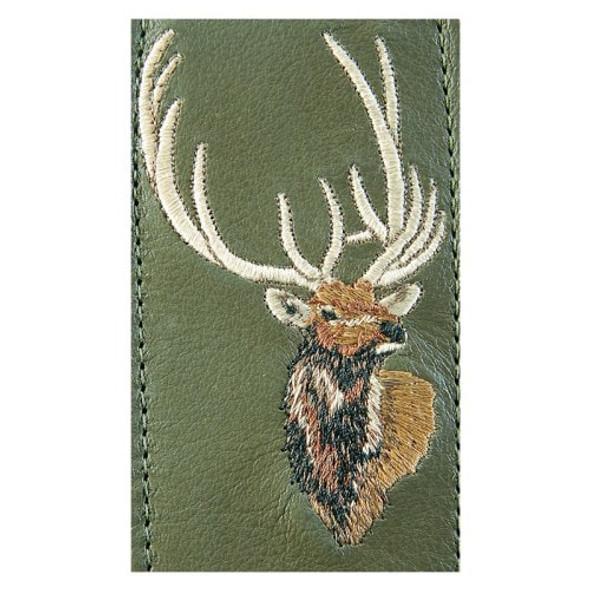 Levy Sling Suede Leather Elk Logo
