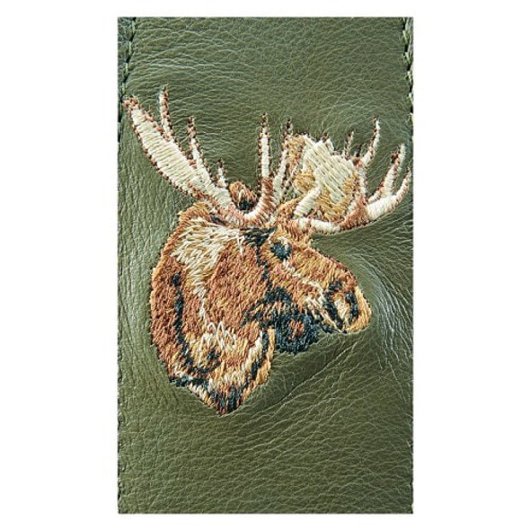 Levy Sling Suede Leather Moose Logo