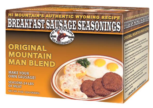Hi Mountain Breakfast Sausage Seasoning Mountain Man Blend